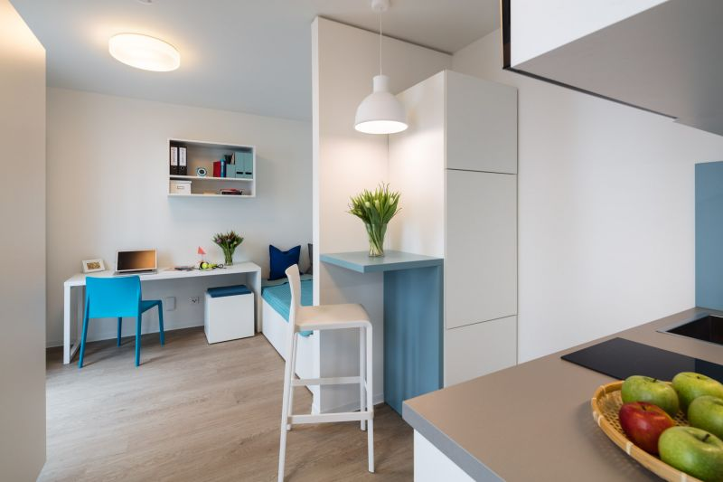 Quartillion Studenten-Apartments • virtueller 360° Rundgang • Fotografie und Programmierung  [{http://palladium.de/clients/trei-3d-v100/||TREI Real Estate GmbH]]