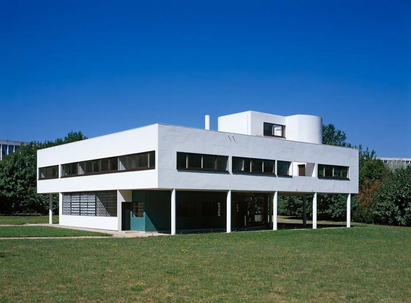 Palladium photodesign villa savoyen poissy - Villa savoye poissy francia ...
