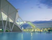 City of Arts and Sciences, Santiago Calatrava, Valencia, Spain